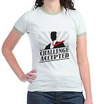 Challenge Accepted Jr. Ringer T-Shirt