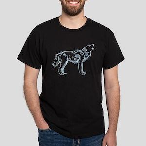 Snowflake Wolf Dark T-Shirt