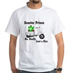 Scooter Frog White T-Shirt