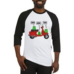 Scooter Frog Baseball Jersey