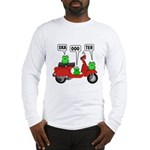 Scooter Frog Long Sleeve T-Shirt