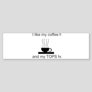 Hot Coffee Sticker (Bumper)