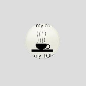 Hot Coffee Mini Button (100 pack)