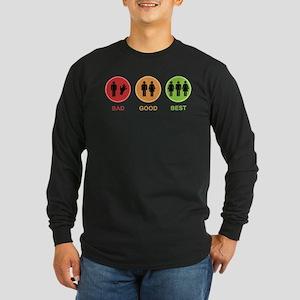 Best Sex Long Sleeve Dark T-Shirt