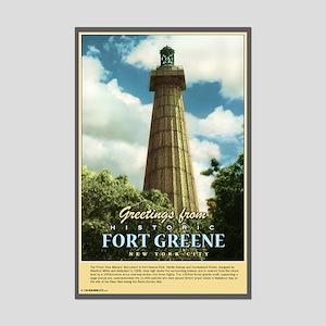 Nostalgic Fort Greene Monument Poster