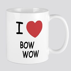 I heart bow wow Mug