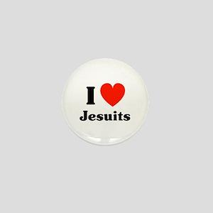 I Heart Jesuits Mini Button