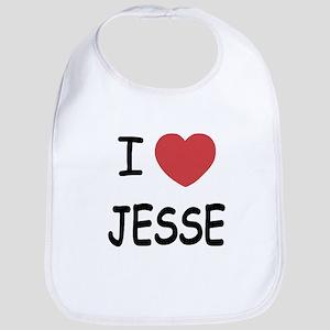 I heart jesse Bib