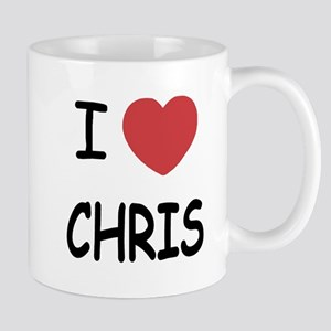 I heart chris Mug