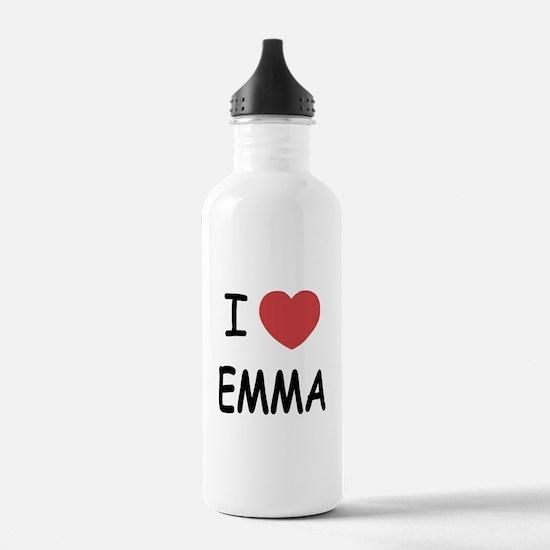 I heart emma Water Bottle