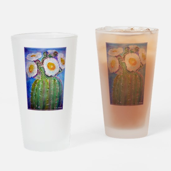 Cactus, Southwest art, Pint Glass