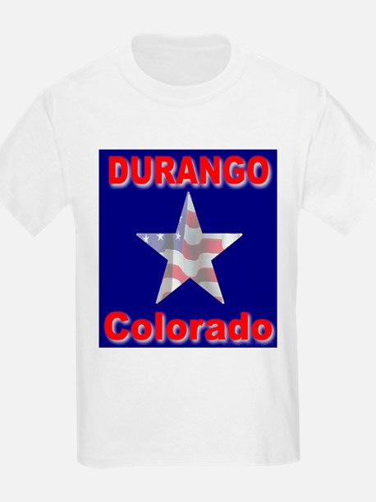 Durango Colorado Kids T-Shirt