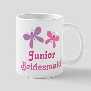 Butterflies Junior Bridesmaid Mug