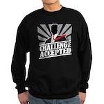 Challenge Accepted Sweatshirt (dark)
