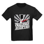 Challenge Accepted Kids Dark T-Shirt