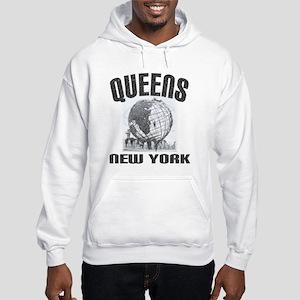 Queens, New York Hooded Sweatshirt