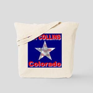 Ft. Collins Colorado Tote Bag