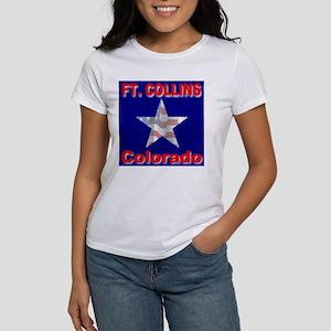 Ft. Collins Colorado Women's T-Shirt