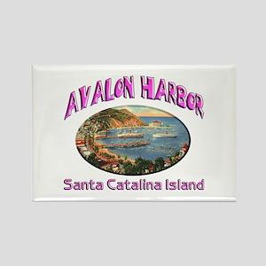 Avalon Harbor Rectangle Magnet