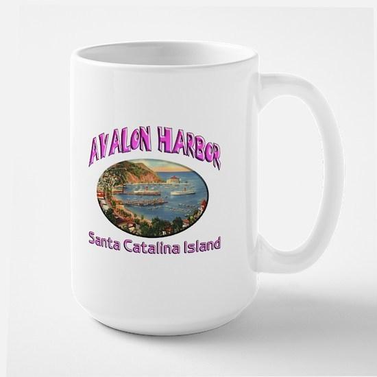 Avalon Harbor Large Mug