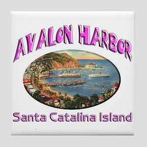 Avalon Harbor Tile Coaster