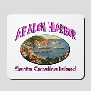 Avalon Harbor Mousepad