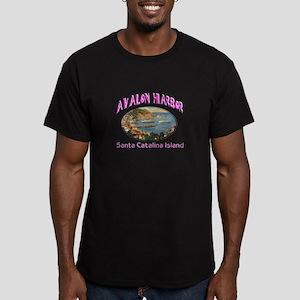 Avalon Harbor Men's Fitted T-Shirt (dark)