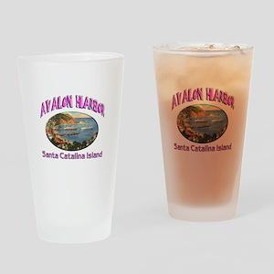 Avalon Harbor Pint Glass