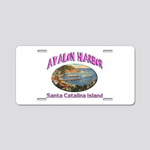 Avalon Harbor Aluminum License Plate