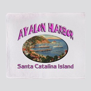 Avalon Harbor Throw Blanket