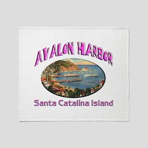Avalon Harbor Throw Blanket