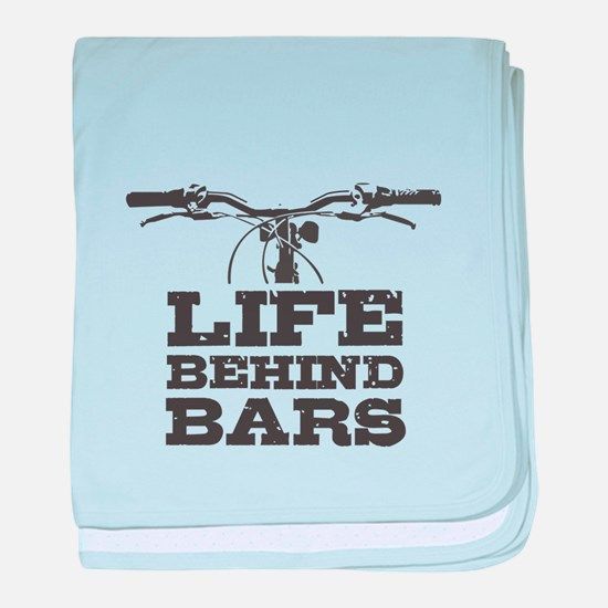 Life Behind Bars T Shirt, Bicycles T baby blanket