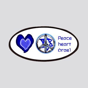 PEACE HEART ISRAEL / JEWISH Patches