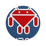 """Ruboto 3.5"""" Button (100 pack)"""