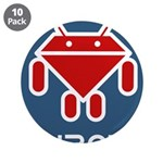 """Ruboto 3.5"""" Button (10 pack)"""