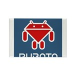 Ruboto Rectangle Magnet (100 pack)