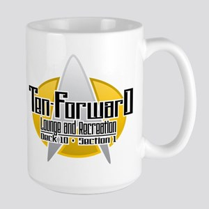 ST TNG: Ten Forward Large Mug