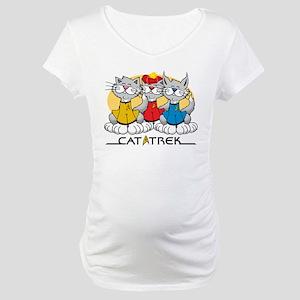 Cat Trek Maternity T-Shirt