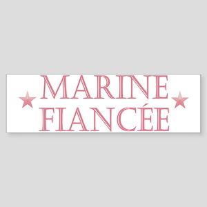 Marine Fiancee Bumper Sticker