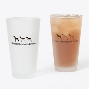 Group O' GSPs Drinking Glass