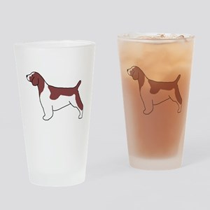 Welsh Springer Spaniel Pint Glass