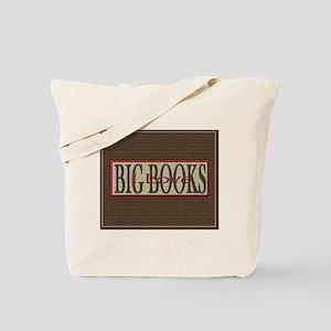 I Love Big Books Tote Bag