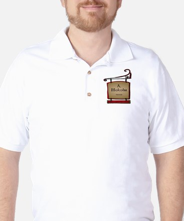 Jamie A. Malcolm Printer Golf Shirt