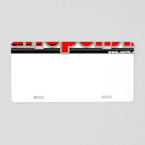 AfroPolish Aluminum License Plate