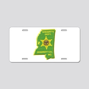 Sharkey County Sheriff Aluminum License Plate