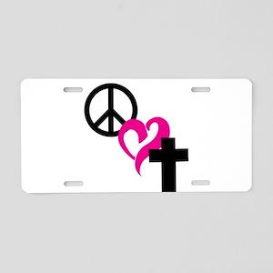 Christian Merchandise Aluminum License Plate