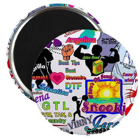 """Best Seller Jersey Shore Gear 2.25"""" Magnet (10 pac"""