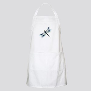 Blue Watercolor Dragonfly Light Apron