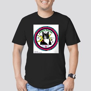 Time For Noms! Men's Fitted T-Shirt (dark)