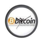 Bitcoins-7 Wall Clock